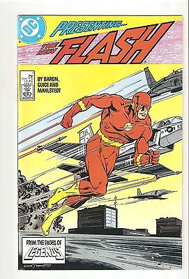 Flash 1 (Jun 1987) NM 9.4  vs Vandal Savage 1st Issue