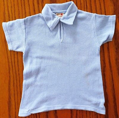 Childs shirt vintage 1960s school uniform sports kit top girl boy Ladybird Age 8