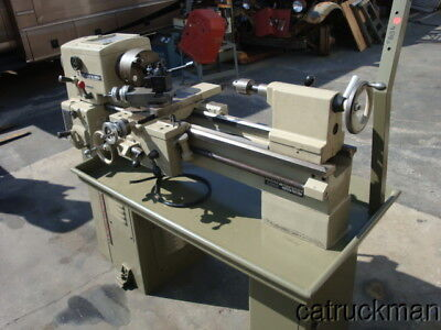 "Clausing 5935, 12"" x 24"" Metal Lathe - Well Tooled (3 J, 4J, QC) & New Paint"
