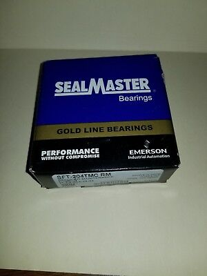 SFT204TMC RM Sealmaster New Ball Bearing Flange Unit