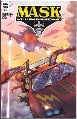 IDW MASK M.A.S.K Annual 2017 variant cover featuring GI Joe *I COMBINE SHIPPING!
