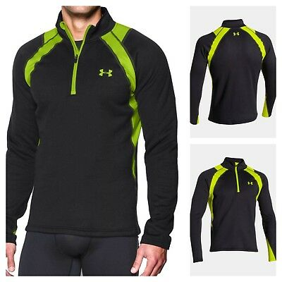 49bd7b6bfa36ef NWT UNDER ARMOUR Base Scent Control Extreme Men's 1/4 Zip Top SELECT SIZE