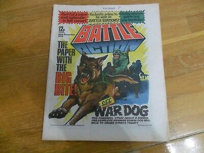 Battle Action Comic Issue Dated  29 December 1979