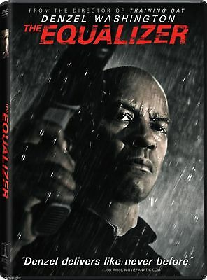 The Equalizer Dvd - Denzel Washington - Authentic Us Release