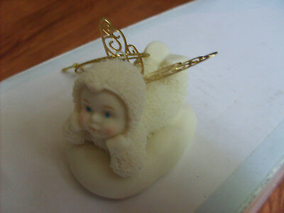 Dept 56 Snowbabies Angle  with Wings Ornament