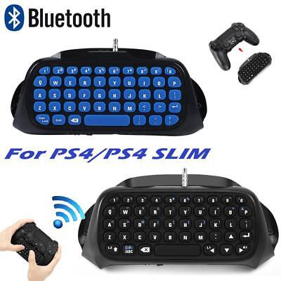 MINI Bluetooth Handle Keyboard Voice/ Message Game Controller for PS4/ PS4 Slim