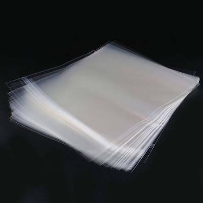 50 Resealable 4 Mil Record Vinyl Outer Plastic Sleeves For 12'' LP GATEFOLD 2LP