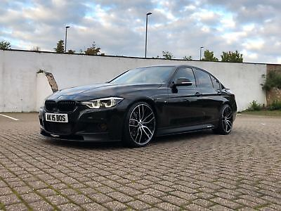 Bmw 320d M Sport Auto With M Performance Kit 20 Alloys Black Fully Loaded 2017