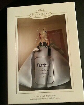 Hallmark Keepsake: LISETTE BARBIE ORNAMENT - Fashion Model Collection Dated 2004