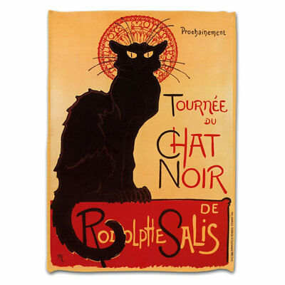 Souvenirs de France - Torchon Paris 'Chat Noir'