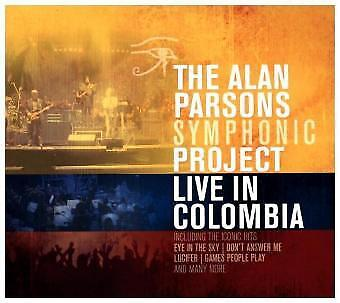 The Alan Parsons Symphonic Project - Live In Colombia CD (2) earMUSIC NEU