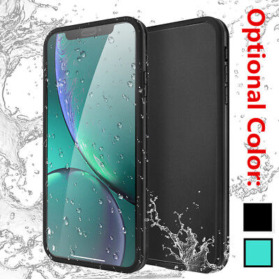 360° Slim Hybrid Waterproof Dirt Shockproof Case Soft Cover Fr iPhone XS Max XR