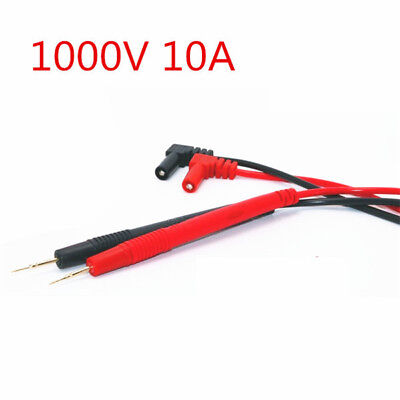 Plated Copper 1000V 10A Multimeter Meter Ultra Pointed Probes Test Cables Leads