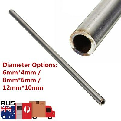 250mm Length 304 Stainless Steel Capillary Tube Pipe Dia 6*4 8*6 12*10mm AU