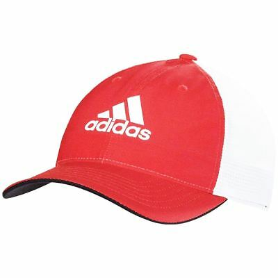 adidas Light Climacool Flex-Fit Hat Structured Mens Performance Golf Cap 00a6397c14ed
