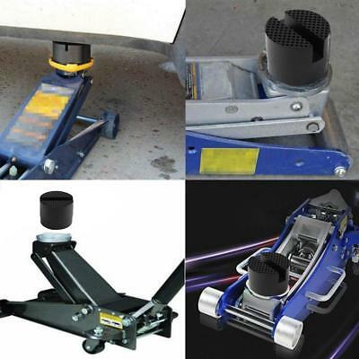 Universal Slotted Frame Rail Floor Jack Guard Lift Tool Rubber Pads For Car Hot