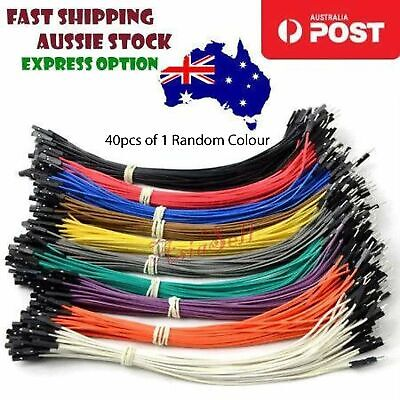 40pcs 2.54mm 20mm Female Male F-M Dupont Wire Arduino Jumper Cables Wires Cables