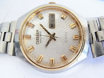 Vintage Herren  Armbanduhr Citizen  Automatic Japan