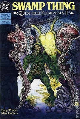 Swamp Thing (2nd Series) #105 1991 FN Stock Image