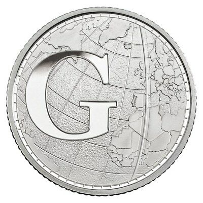 "New 10p G ""Greenwich Mean Time"" - Free Postage"