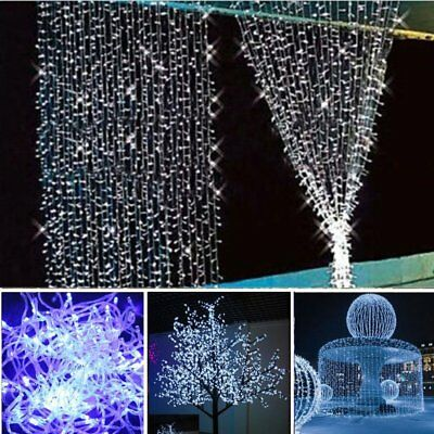 100LED 10M Warm Cool Colorful Fairy Christmas String Strip Lights Outdoor Party