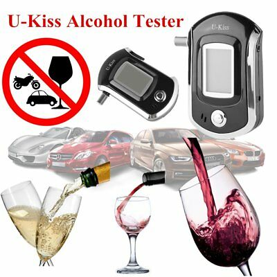 Portable Digital Alcohol Breathalyser Breath Tester Breathtester w/ LCD Screen T