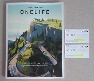 Land Rover ONELIFE Magazine 2017 Issue 24 & Two $10 OFF Merchandise Gift Codes