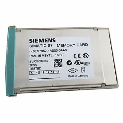1PC Used Siemens 6ES7 952-1AS00-0AA0 6ES7952-1AS00-0AA0