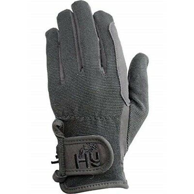 Hy5 Children's Every Day Riding Gloves - Black - Child Small