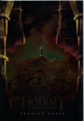 The Hobbit The Desolation Of Smaug Chromium Promo Card P3