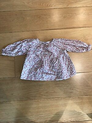 Bonpoint Blouse 12m Liberty pattern