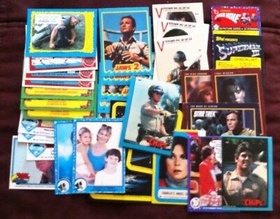 1978 to 1991 Lot of 75 NON-Sport lower grade cards**VG to EX++
