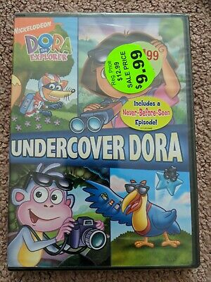(1A3) New Dora The Explorer - Undercover Dora DVD 2008 full screen free shipping
