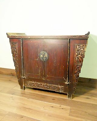 """Antique Chinese """"Butterfly"""" Coffer (5692), Circa 1800-1849"""
