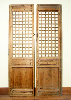 Antique Chinese Screen Panels (5471)(Temple Door), Cunninghamia Wood, 1800-1849