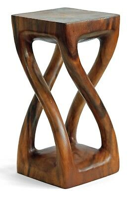 Pleasing Small Wooden Twist Side Table Stool Lamp Plant Speaker Stand Squirreltailoven Fun Painted Chair Ideas Images Squirreltailovenorg