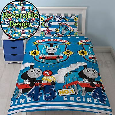 Thomas & Friends Patch Single Duvet Cover Set 2 In 1 Designs Childrens Bedding