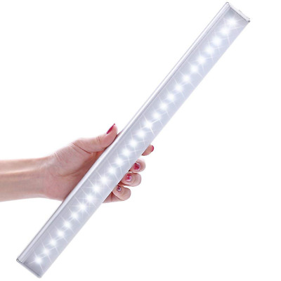 Lofter Motion Sensor Light Rechargeable Stick-on 27 LED Aluminum Activated Night