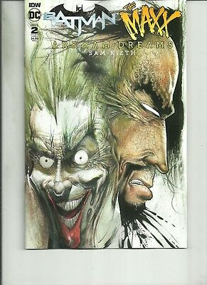 Batman The Maxx #2 Arkham Dreams Variant Dc Comics  Kieth 2018