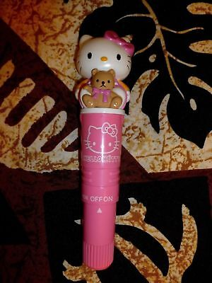 HELLO KITTY PERSONAL VIBRATING BODY MASSAGER -1st-Gen. 1997 Original Model NEW!