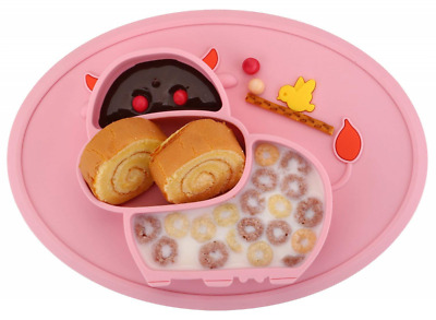 11x8x1 inch Toddler Plate, Baby for Babies Toddlers and Kids, Portable BPA-Free