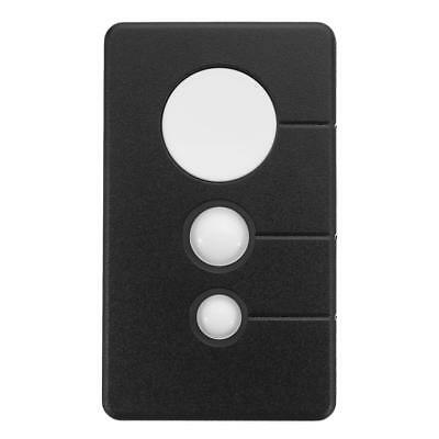 3 Button 390MHz Garage Door Remote Opener For LiftMaster Sears Craftsman Black