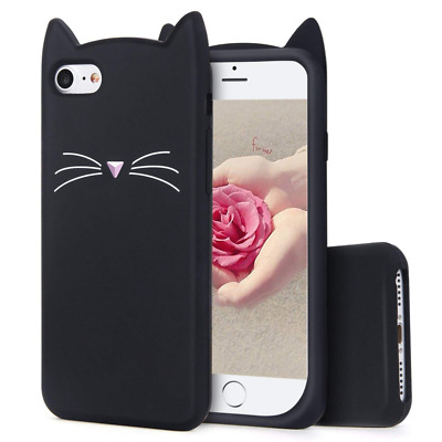 Case for iPhone Cartoon Soft Silicone Cute 3D Fun Cool Cover Girls Lady Cases US