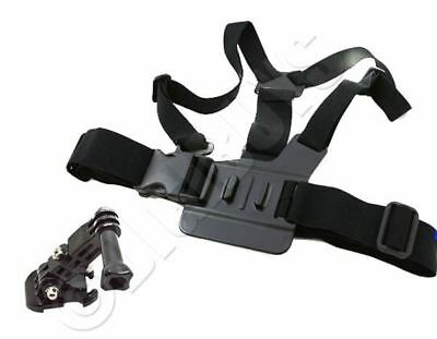 Chest Strap Adjustable Harness Mount  for GoPro HD Hero HD Hero 1 2 3 3+ 4+Screw