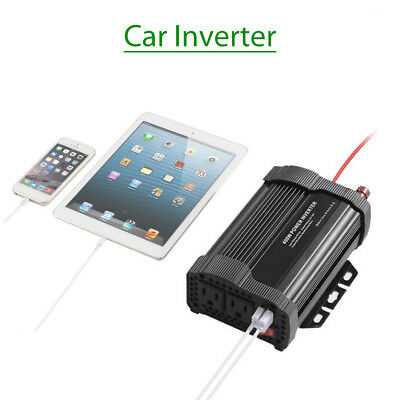 400W Car Power Inverter DC12V to AC110V Modified Charger Adaptor For Smartphone