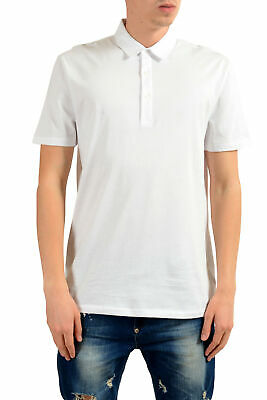 VERSACE COLLECTION MEN S White Short Sleeves Polo Shirt Sz S M L XL ... 250394bce82