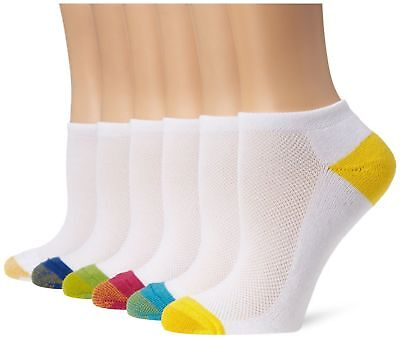 Gold Toe Women S Cushion Liner Socks Assorted Colors 6 Pairs