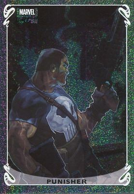 Marvel Masterpieces 2018 Holofoil Chase Card 13 OF 20 Punisher