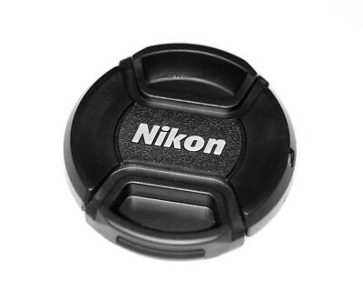 Nikon 52mm Centre Pinch Snap on Front Lens Cap for Lenses with 52mm Thread