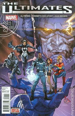 Ultimates (Marvel) 1A 2016 Rocafort Variant NM Stock Image
